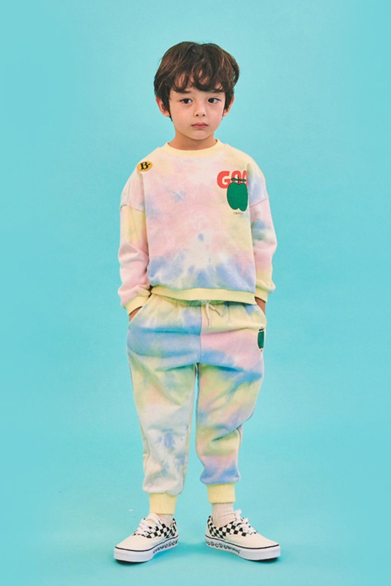Kids Clothes Sets Toddler Boys 2021 Spring Infant Casual Clothing Set Korean Brand Baby Girls Outfit Ice Cream Sweatshirt Pants 3