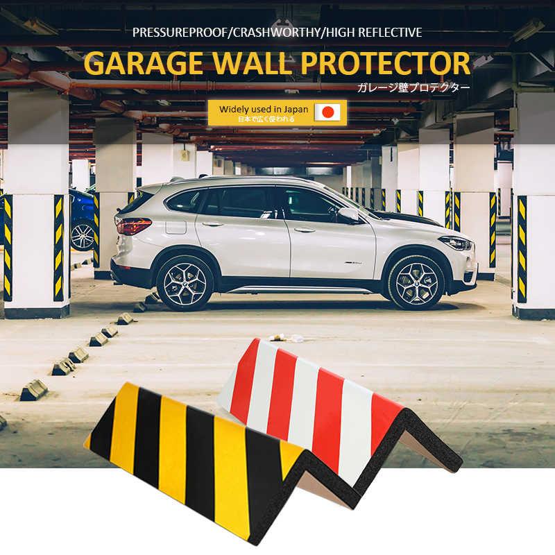 1 stücke Reflektierende Garage Wand Protector Schaum Wand Ecke Schutz Auto Tür Protector Sicherheit Parkplatz Aufkleber