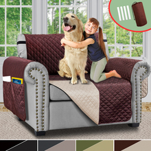 Reversible Recliner Chair Cover Pet Dog Kids Sofa Couch Cover Slipcovers Sofa Covers Furniture Protector Mat For Living Room