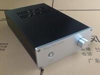 LM3886 TDA7293 Silber Weiß Alle aluminium Gebürstet Power Verstärker Chassis Verstärker Gehäuse Enthält RCA Lautsprecher Buchse auf