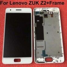 """Протестированный для 5,"""" lenovo ZUK Z2 ЖК-дисплей кодирующий преобразователь сенсорного экрана в сборе для lenovo ZUK Z2 запасные части+ рамка"""