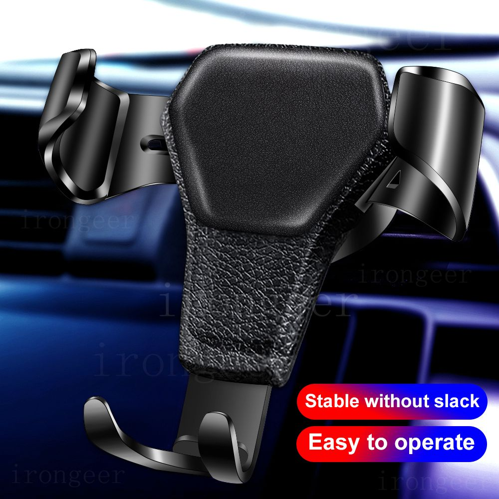 Mobile Phone Holder Car Holder Gravity Bracket Air Vent Stand Mount For iPhone 11 8 Huawei Xiaomi Samsung Car Holder For Phone title=