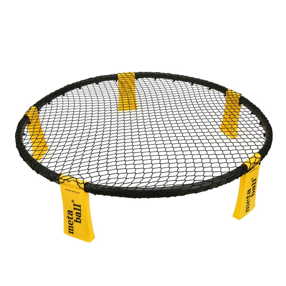 Net Volleyball-Net Fitness-Equipment Sports-Lawn Outdoor-Team Spikeball Mini with 4PCS