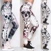 #Z30  Skull Women Printed Leggings Fitness Slim Workout Leggings Trousers For Women Fashion High Waist Leggings Clothing Mujer 1