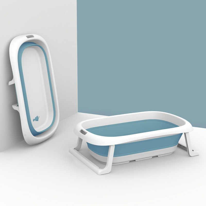 Yenidoğan bebek katlanır küvet katlanabilir bebek yüzmek küvetler taşınabilir katlanabilir çevre dostu kaymaz güvenli çocuk küvet bebek duş küvet
