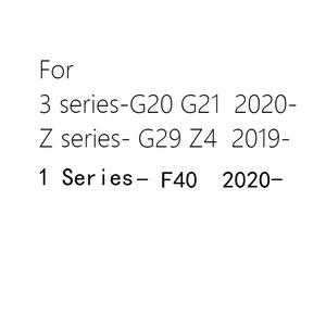 2 шт. Led пригласительные огни в дверь автомобиля Светильник проектор логотипа Ghost Shadow Лазерная лампа пульт дистанционного управления для BMW 1 3 серии G20 G21 F40 G29 Z4 2019 2020 G20|Наклейки на автомобиль|   | АлиЭкспресс