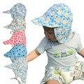 UV Schutz Sonnenhut Unisex Neugeborenen Kleinkind Kind Baby Jungen Mädchen Sommer Strand Headwear Außen Eimer Hut Kappe Baumwolle