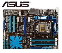 original motherboard for ASUS P7H55 boards LGA 1156 DDR3 for i3 i5 i7 cpu 16GB USB2.0  H55 Desktop motherboard Free shipping недорго, оригинальная цена