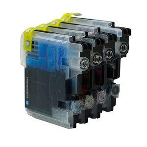 Image 2 - 12x LC985 LC975 LC39 чернила для принтера картридж совместимый с DCP385C DCP J125 DCP J315W MFC J415W MFC J410 MFC J700D J700DW