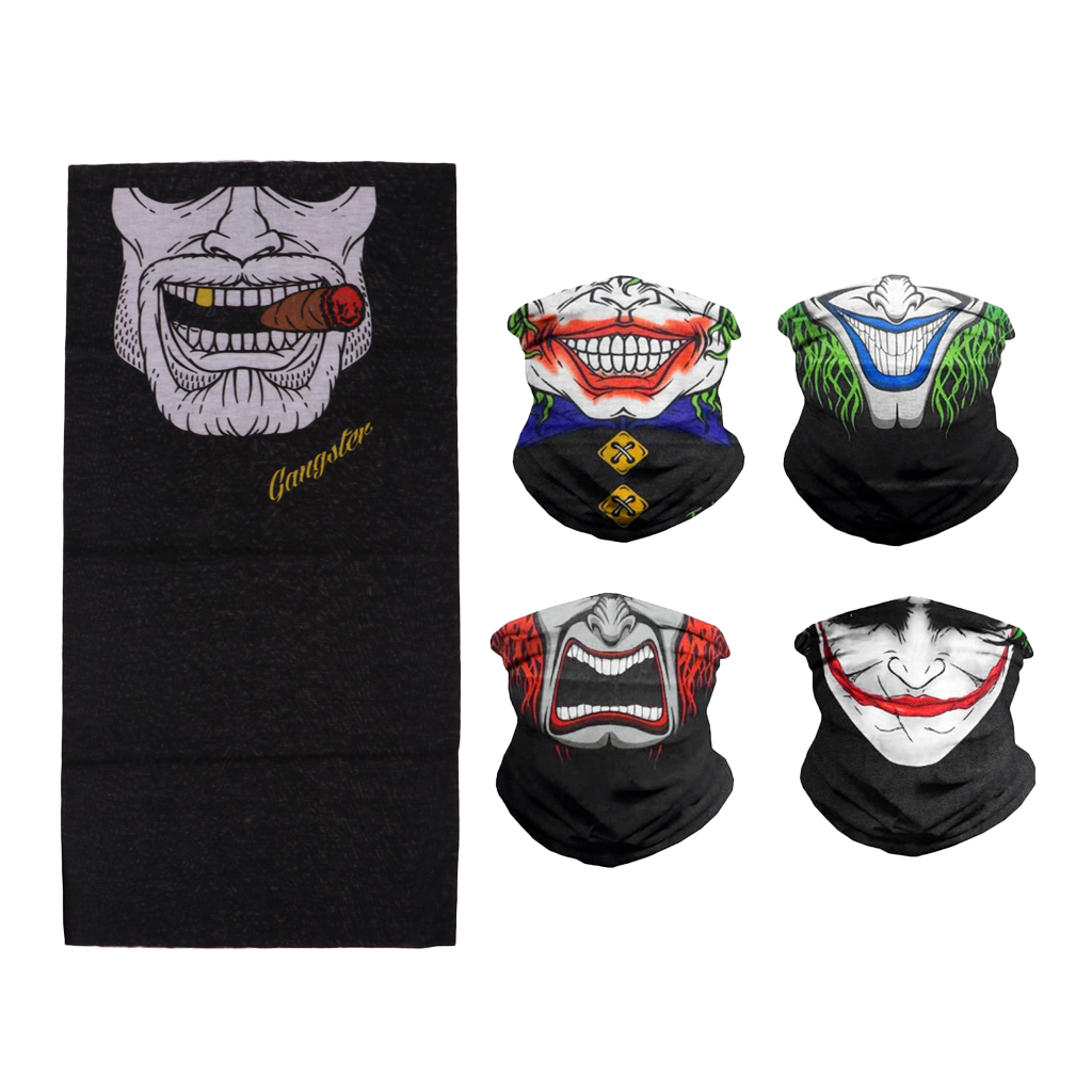 Outdoor Sport Windproof Headband Head Tube Neck Scarf Face Mask Headwear Cap