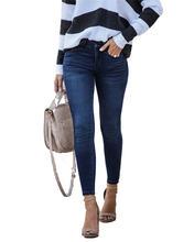 Джинсы для мамы и дочки джинсы со средней талией женские облегающие
