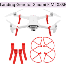 Buy CW CCW Foldable Propeller for Xiaomi FIMI X8SE Landing Gear Propeller Guard Props Heightening Stand Protective Drone Accessories directly from merchant!