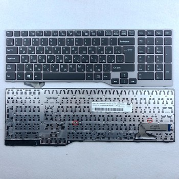 Russian Spanish US-International Laptop Keyboard For Fujistu E754 Lifebook E753 E756 E554 E556 RU SP US Layout sp spanish keyboard for samsung 905s3g 915s3g np915s3g np905s3g white laptop keyboard sp layout