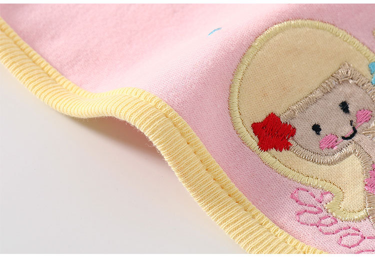 50pcs Baby saliva towel baby solid color newborn Bib rice bag absorbent cotton Bib children bib