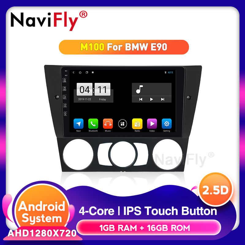 グッドニュースアンドロイド 10.0 カーラジオ bmw 3 シリーズ E90 E91 E91 E92 マルチメディアプレーヤー IPS スクリーン GPS ナビゲーション 1280*720 HD SWC