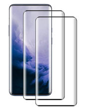 2PCS Full Cover 9H Curved Tempered Glass Screen Protector For OnePlus 7T Pro(China)