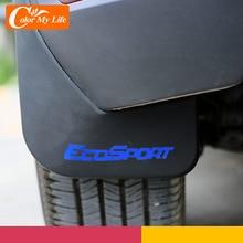 Parafanghi ABS paraspruzzi parafanghi posteriori anteriori parafango per Ford Ecosport 2013 2017 paraspruzzi accessori parti
