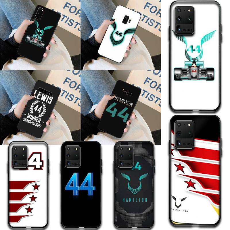 CUTEWANAN racing racer Lewis Hamilton 44 Custom Photo Soft Phone Case for Samsung S20 plus Ultra S6 S7 edge S8 S9 plus S10 5G image