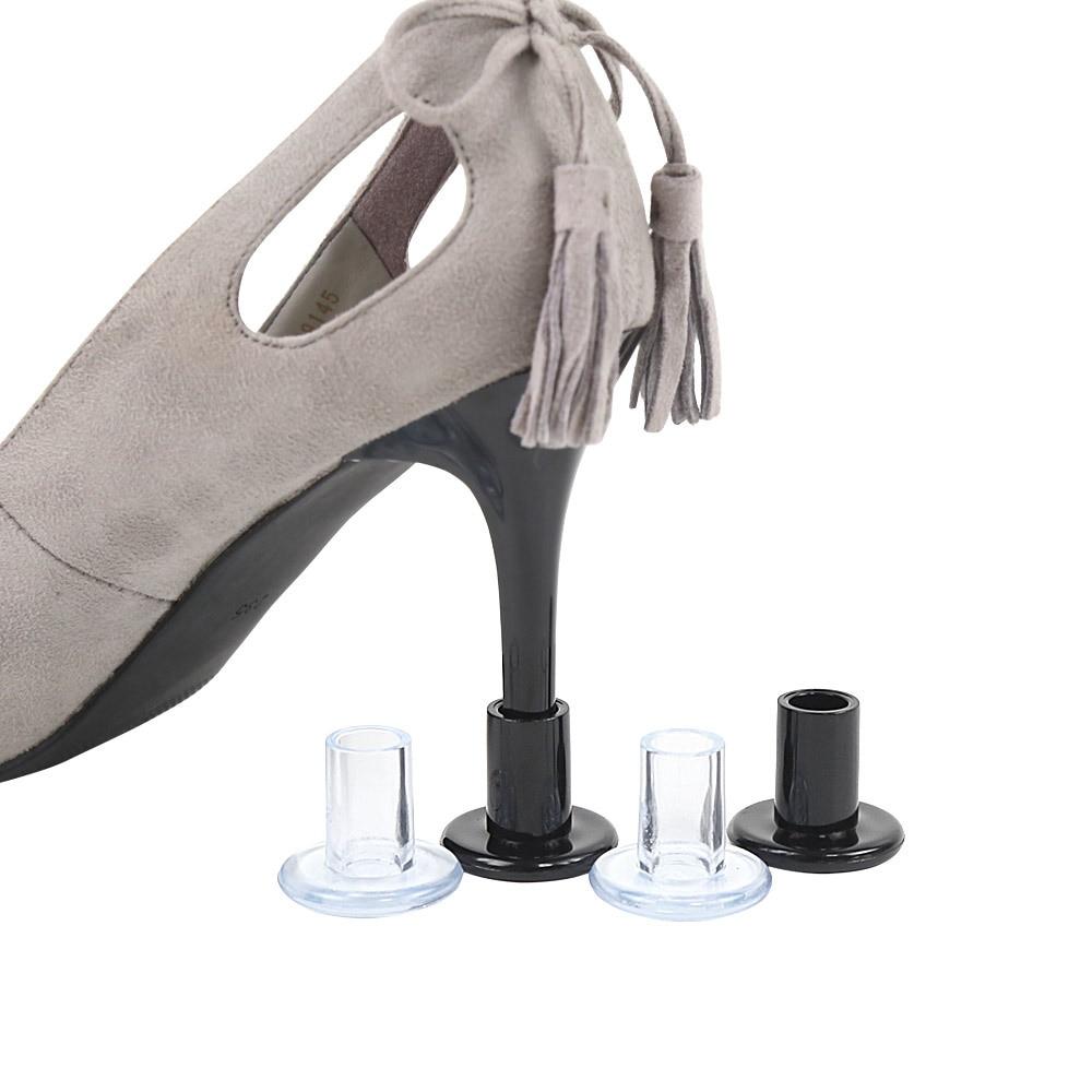 1 пара протекторы для обуви на высоком каблуке каблук-шпилька для латинских танцев Танцы крышки колпачки на каблук с объёмным рисунком из му...