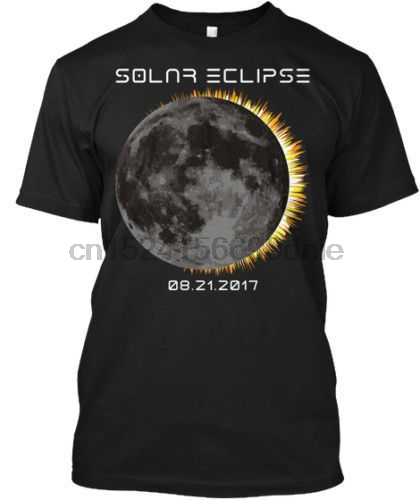 2017 Total Solar Eclipse Moon Tee T-Shirt