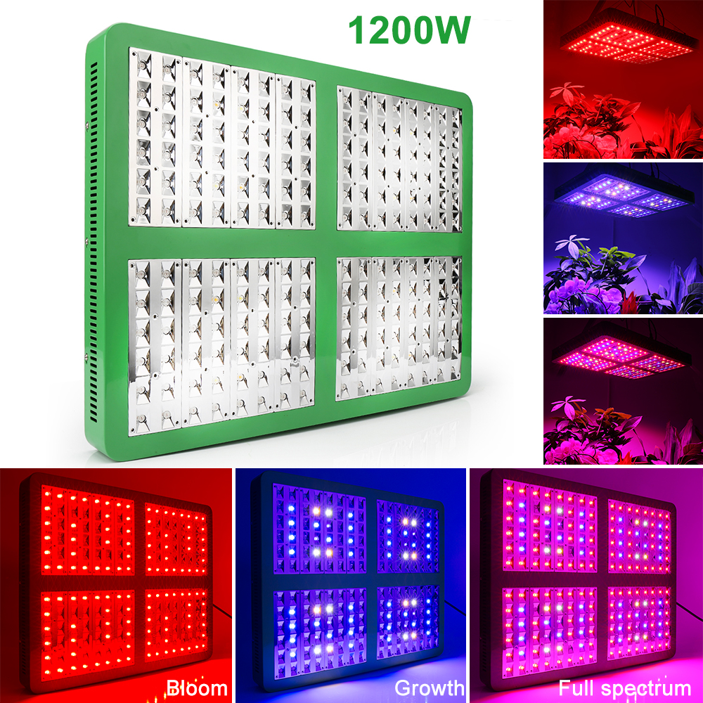 Reflector 300W 600W 1200W 1800W LED Grow Light Full Spectrum Veg/Bloom Switchable For Indoor Greenhouse Plants Phytolamp Indoor