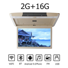 15.6/11.6 pollici Monitor per auto montaggio a soffitto tetto MP5 Player Android 9.0 HD 1080P lettore Video WIFI HDMI/USB/FM/altoparlante/bluetootnh