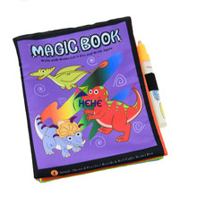 Water-Painting-Book Magic Children Education Colorful The Wisdom Printed Hot-Sale Tear-Proof