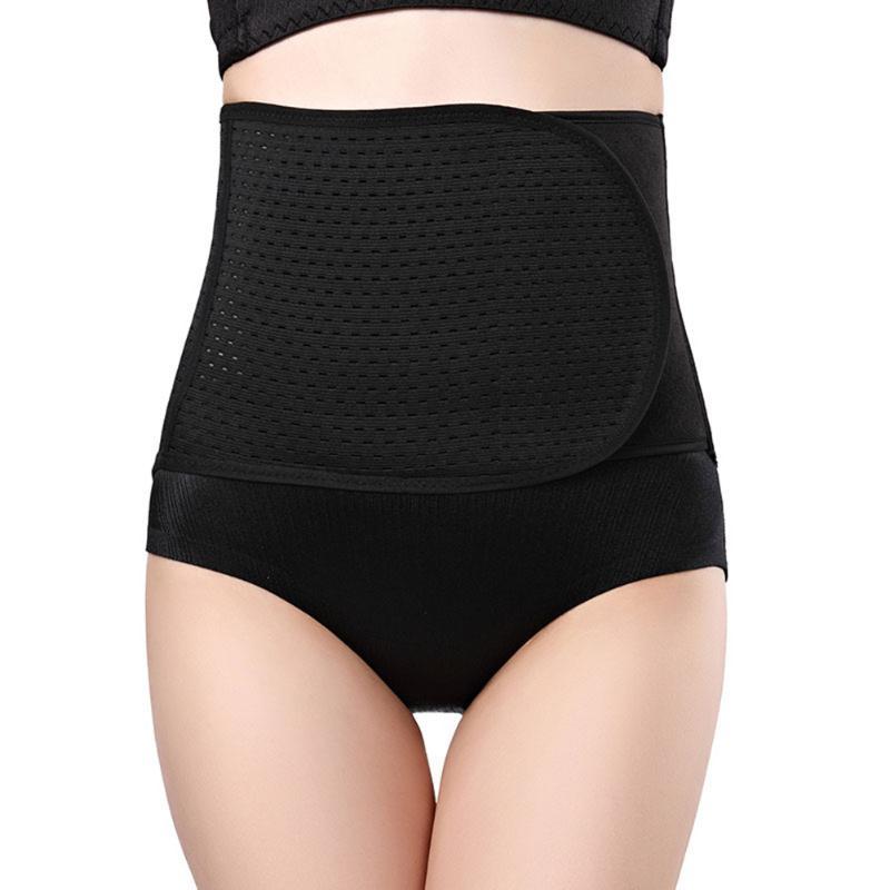 Belly Abdomen Postpartum Belt Body Shapewear Waist Trainer Fitness Spandex Blend  Corset Reathable Waist Trainer Corset