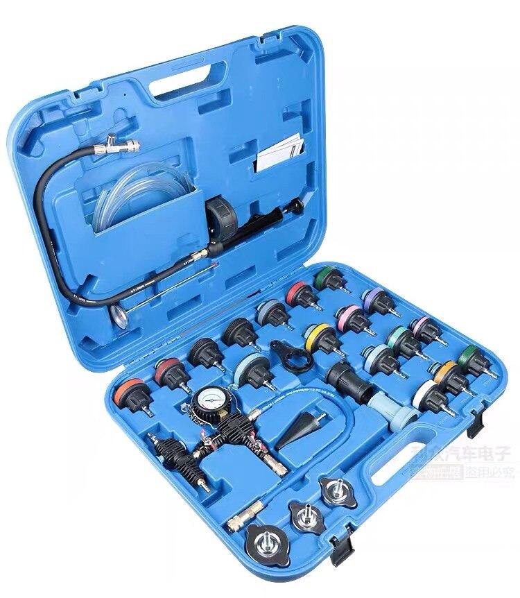 Free shipping universal car tank leak tester radiator pressure tester vacuum cooling system test  leak detector tools| |   - AliExpress
