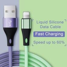 Cable USB para iPhone 11 Pro Max Xs Xr X 8 7 6s 5s Plus, Cable de carga rápida para iPad, Cable de datos para cargador de iPhone 2 unidades,