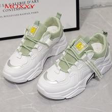 Ladies Wedged Shoes Chunky Platform Sneakers Women