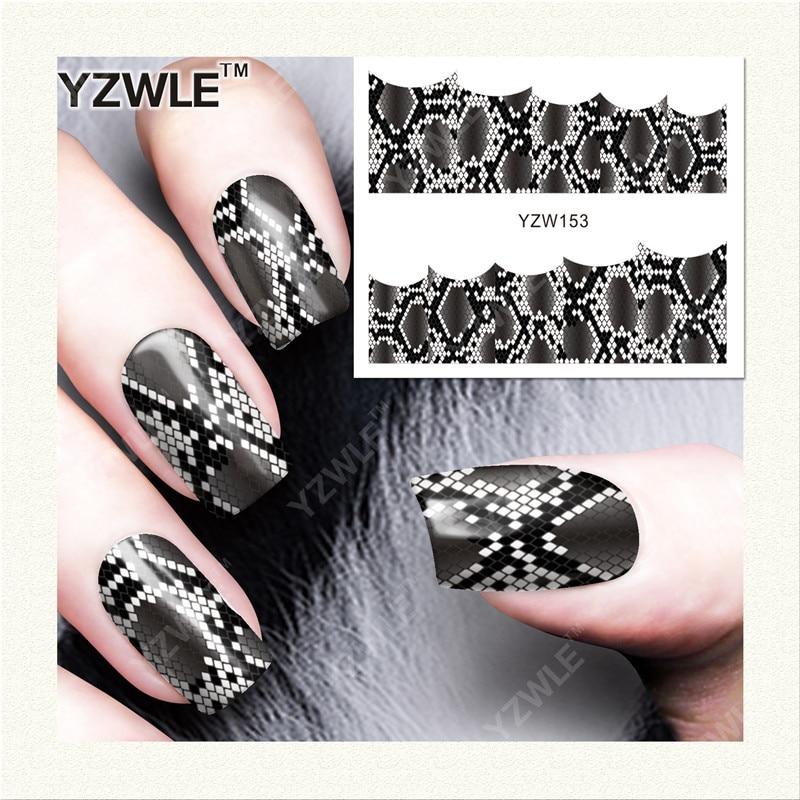 Yzw Nail Sticker Children South Korea Watermarking Waterproof Flower Stickers Fake Nails Patch YZW153