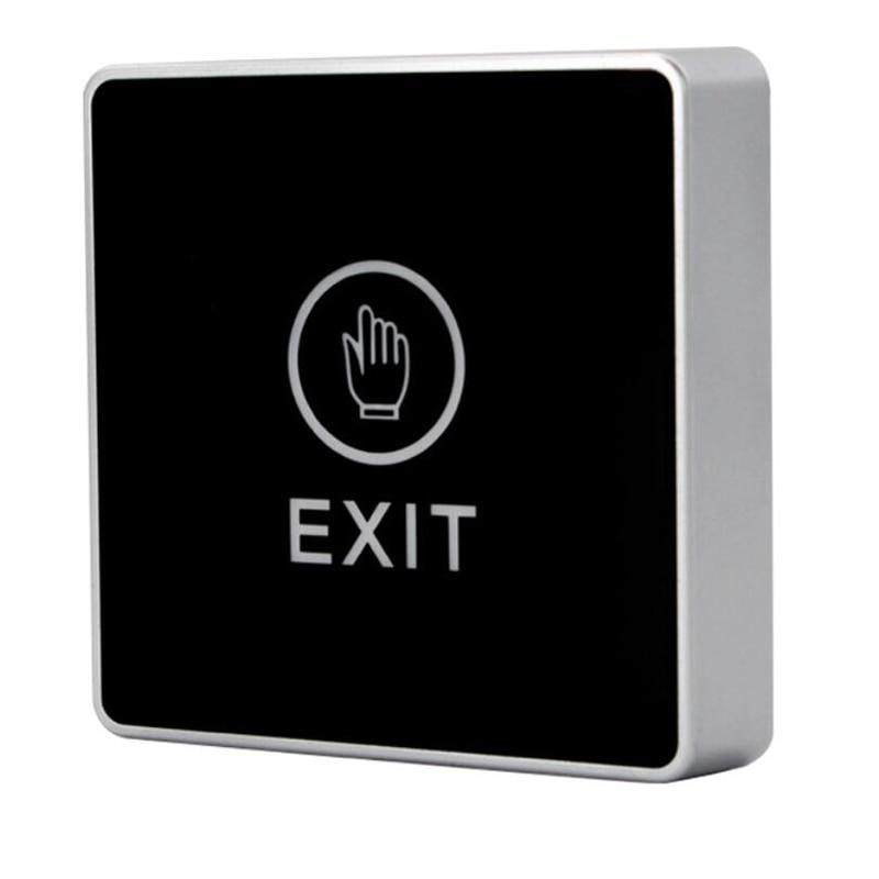 Door Switch With Exit Button/Touch Panel/LED Indicator/Backlight Door Opener/Door Lock For Electric Door Access Control