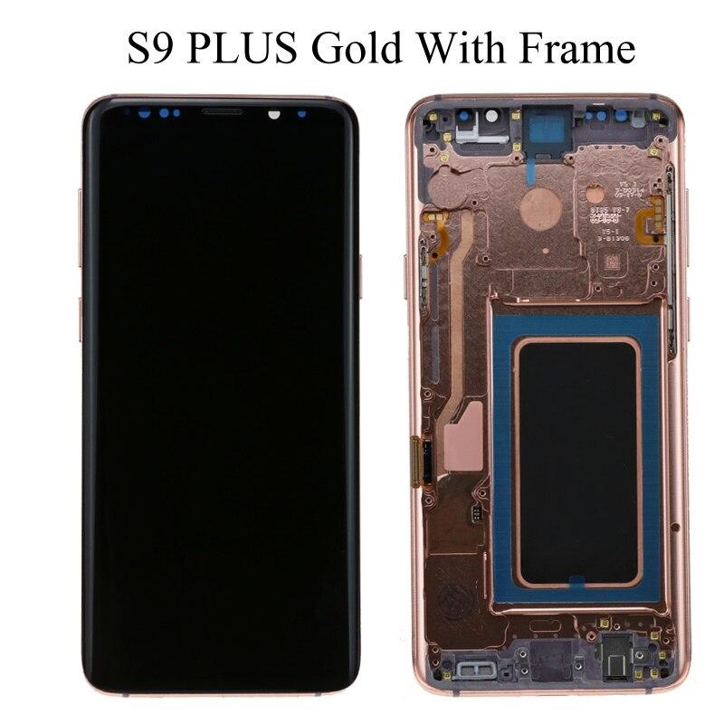 S9 Plus Gold Frame