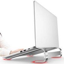 Алюминиевая Подставка для ноутбука Поддержка Держатель для Huawei Xiaomi Chromebook Macbook Pro HP Dell Asus компьютер кронштейн аксессуары для ванной комнаты