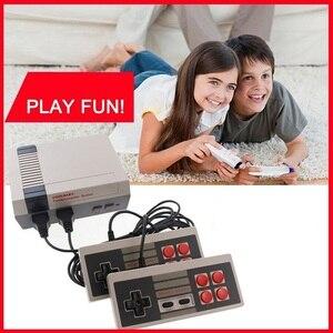 Klasyczna gra konsoli klasyczna gra konsola wbudowany-w 620 gra gra wideo konsoli wyjście AV 8-bit uchwyty sterujące szczęśliwe dzieciństwo