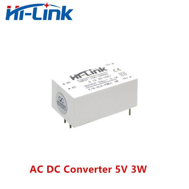 משלוח חינם חדש היי קישור ac dc 5v 3w באק צעד למטה אספקת חשמל מודול ממיר אינטליגנטי ביתי מתג כוח מודול