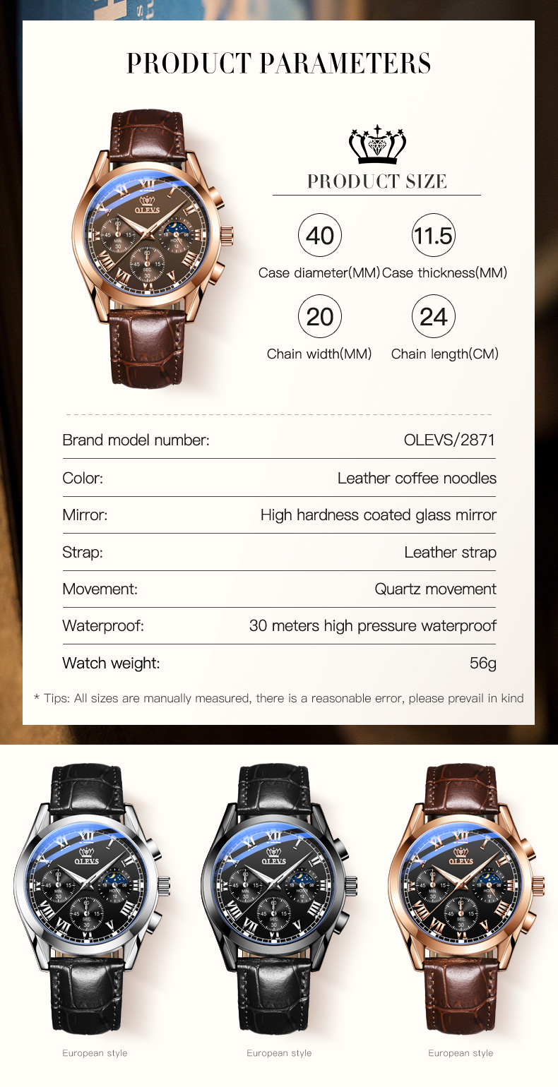 OLEVS 2871 Watch 11