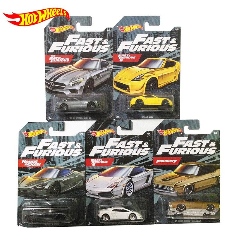 Jantes chaudes d'origine 1:64 voiture rapide et furieux film Collector édition moulé sous pression 1/64 alliage modèle voiture enfants Forza jouets garçons cadeaux