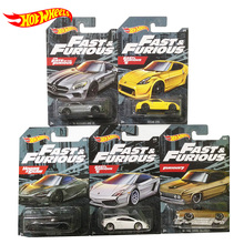 Original Hot Wheels 1:64 Car Fast and Furious Movie Collector Edition Diecast 1/64 Alloy Model Car Kids Forza Toys Boys Gifts