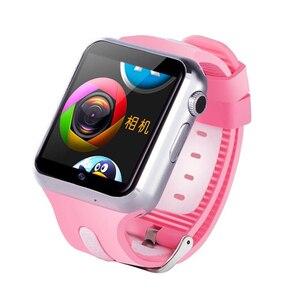 Image 3 - ילדים 3G חכם שעון Wifi מצלמה פייסבוק Whatsapp לבקר את אתר צג אנדרואיד IOS טלפון שעונים v5w/V7W