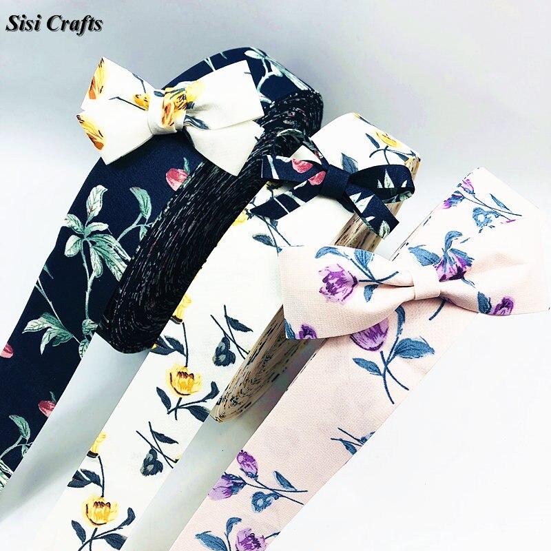 "Flip Flops Summer Beach Printed Grosgrain Ribbon 25mm wide 1 2 5m lengths 1/"""