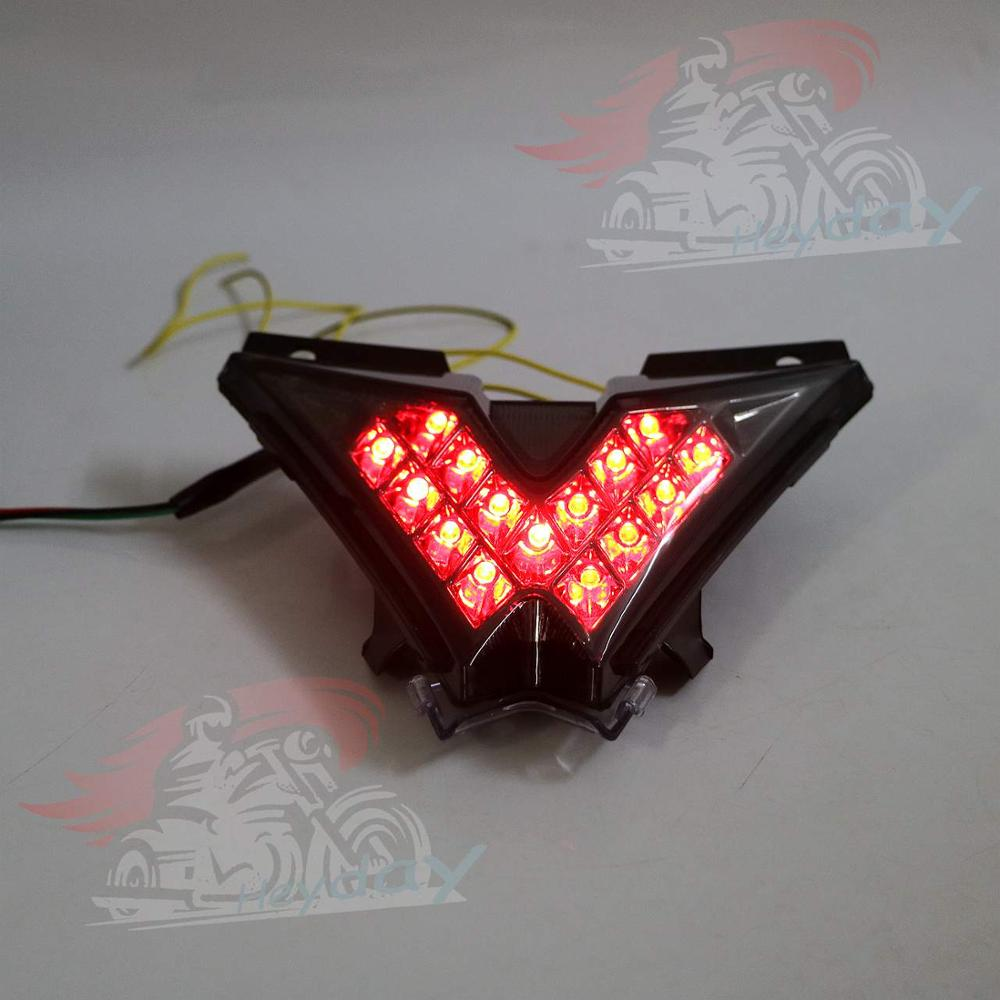 Image 3 - Motorcycle LED Taillight Integrated Turn Signals For Aprilia RSV4 Tuono V4 2010 2016 11 12 13 14 15