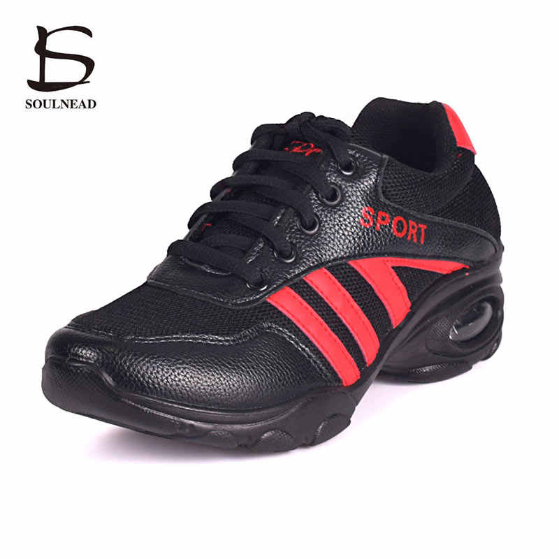 Cheap Hip Hop Dancing Shoes Women Sport Sneakers Platform Dance Shoes Woman Modern Dance Shoes Jazz Footwear Sapato Feminino