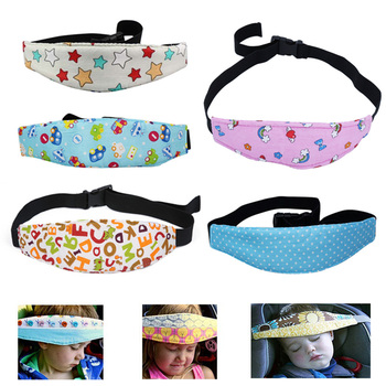 цена на Child Car Safety Seat Sleeping Head Fixing Protection Belt Baby Pram Secure Strap Doze Band