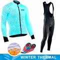 Ropa de ciclismo de lana térmica de invierno para hombre equipo NW Pro de la onda del Norte