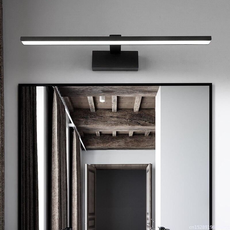 espelho farois preto branco maquiagem luz parede 03