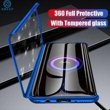 360 total Proteção Bumper Case for Huawei Y5P Y6P Y7P Y6S Y9S Y5 2018 Y6 Y7 Y9 Prime 2019 Nova 5T P Inteligente 2020 Capa à prova de choque