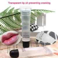 Aceite labial transparente de tubo suave, nutritivo, hidratante, labios, maquillaje, brillo de labios, Kit de lápiz labial líquido, bálsamo de maquillaje, 18ml