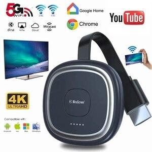 Image 1 - G20 TV Stick 5G WiFi 4K Full HD Display Dongle HDMI Media Video Streamerเครื่องรับสัญญาณทีวีDongleสำหรับGoogle Chromecast